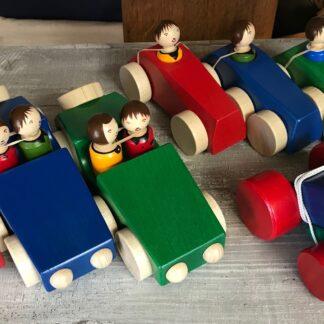 Holzspielsachen von Weizenkorn