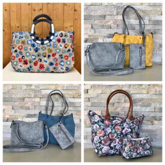 Bag-in-bag, Shopper und Einkaufskörbe